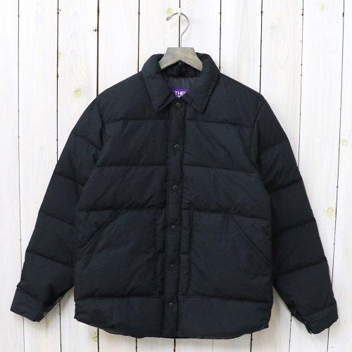 『Midweight 65/35 Stuffed Shirt』(Black)