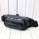 patagonia『Black Hole Waist Pack』(Black)