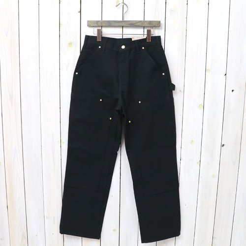t『B01 DOUBLE-FRONT WORK DUNGAREE PANTS』(BLACK)