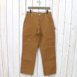 Carhartt『B01 DOUBLE-FRONT WORK DUNGAREE PANTS』(BROWN)