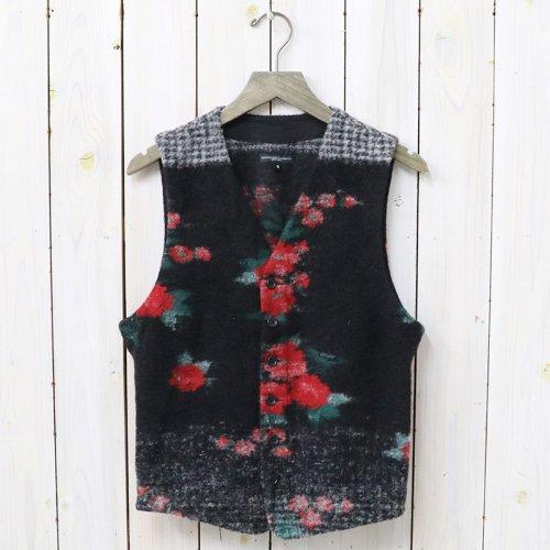 『Knit Vest-Floral Glen Knit』