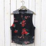 ENGINEERED GARMENTS『Knit Vest-Floral Glen Knit』