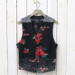 ENGINEERED GARMENTS『Knit Vest-Floral Glen Knit』