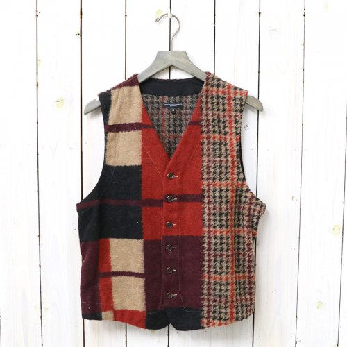 『Knit Vest-Gun Club Multi Check Knit』