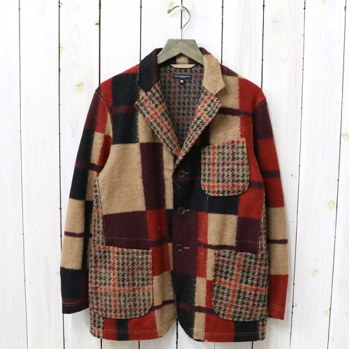 『Knit Jacket-Gun Club Multi Check Knit』