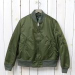 ENGINEERED GARMENTS『Aviator Jacket-Flight Sateen』(Olive)