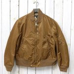 ENGINEERED GARMENTS『Aviator Jacket-Flight Sateen』(Khaki)