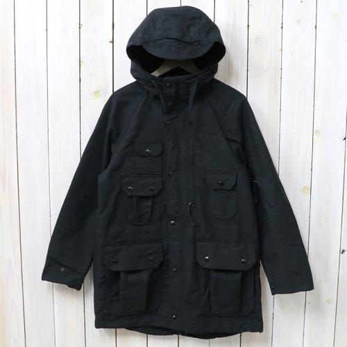 『Field Parka-Cotton Double Cloth』(Black)