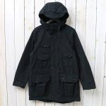 ENGINEERED GARMENTS『Field Parka-Cotton Double Cloth』(Black)
