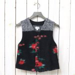 【会員様限定SALE】FWK by ENGINEERED GARMENTS『Knit Vest-Floral Glen Knit』