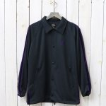 Needles『Side Line Coach Jacket-Poly Smooth』(Black)