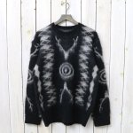 SOUTH2 WEST8『Loose Fit Sweater-Mohair/Native』(Black)