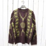 SOUTH2 WEST8『Loose Fit Sweater-Mohair/Native』(Brown)