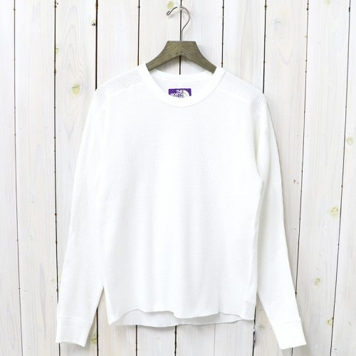 『Crew Neck Thermal Shirt』(White)