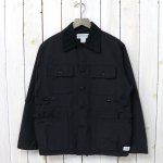 SASSAFRAS『GARDEN HOLE JACKET(60/40)』(BLACK)