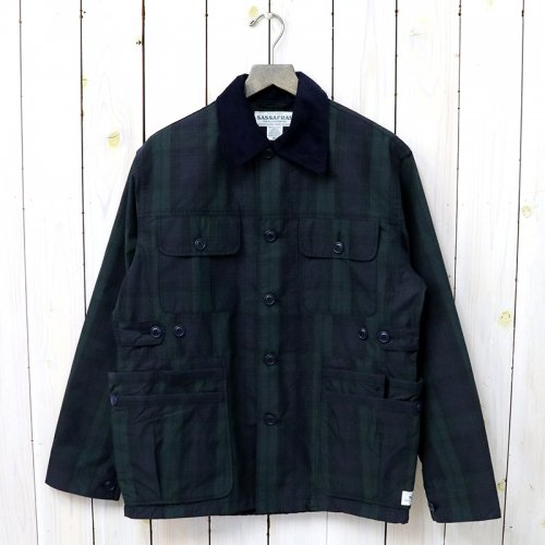 『GARDEN HOLE JACKET(COTTON NYLON RIPSTOP)』(CHECK)