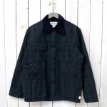 SASSAFRAS『GARDEN HOLE JACKET(COTTON NYLON RIPSTOP)』(CHECK)