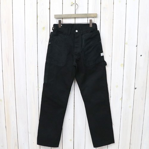 『FALL LEAF GARDENER PANTS(DUCK)』(BLACK)