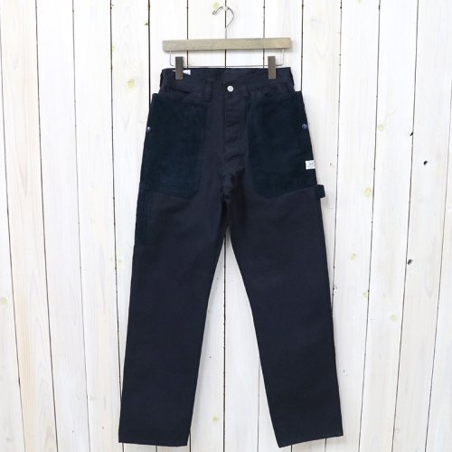 『FALL LEAF GARDENER PANTS(DUCK)』(NAVY)