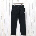 SASSAFRAS『BOTANICAL SCOUT PANTS(DUCK)』(BLACK)