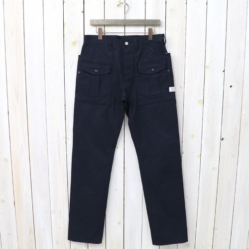 SASSAFRAS『BOTANICAL SCOUT PANTS(DUCK)』(NAVY)