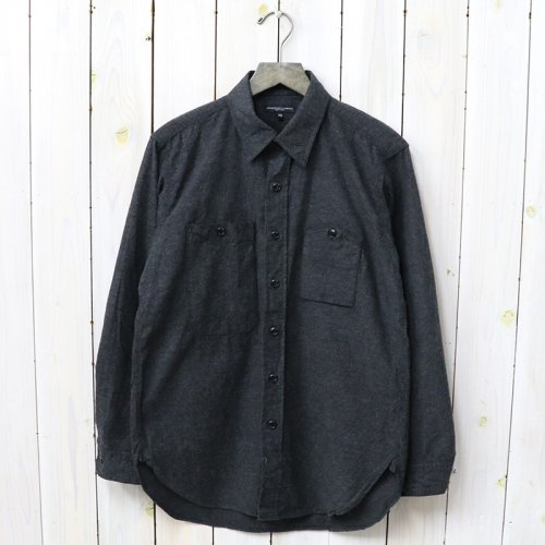 『Work Shirt-Heather Cotton Flannel』