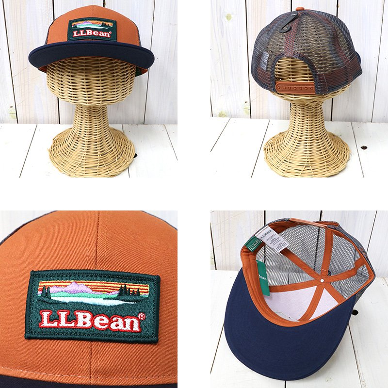 L.L.Bean (エルエルビーン)『Bean s Trucker Patch Hat』- REGGIE ショップ ... 22fe2d0d5da8