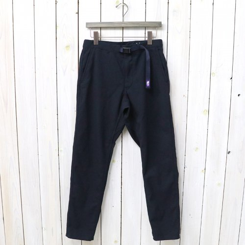 『Polyester Serge Field Pants』(Dark Navy)