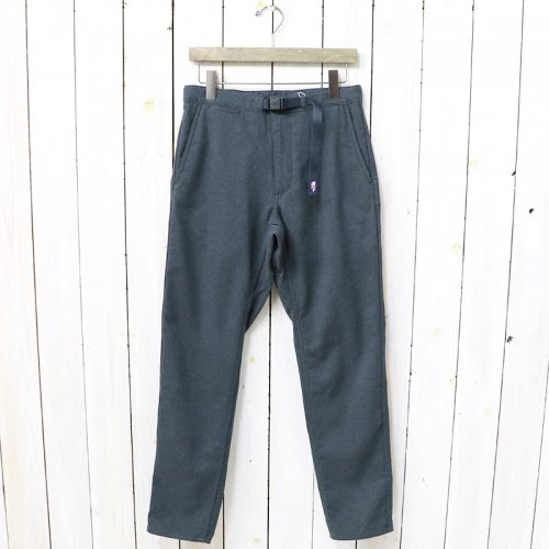 『Polyester Serge Field Pants』(Charcoal)