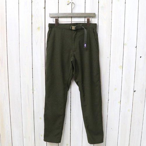 『Polyester Serge Field Pants』(Khaki)