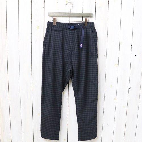 『Wool Polyester Oriental Pants』(Navy)