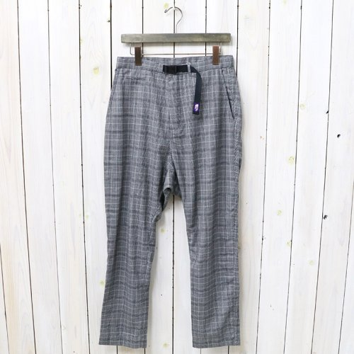『Wool Polyester Oriental Pants』(Light Gray)