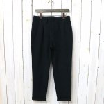 CURLY『BLEECKER TROUSERS』(BLACK)