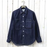 SASSAFRAS『WHOLE PRUNER HALF(8oz DENIM)』(INDIGO)