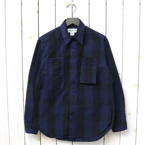 『WHOLE PRUNER HALF(TWILL)』(BLUE×BLACK)
