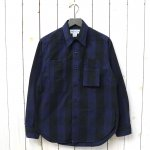 SASSAFRAS『WHOLE PRUNER HALF(TWILL)』(BLUE×BLACK)