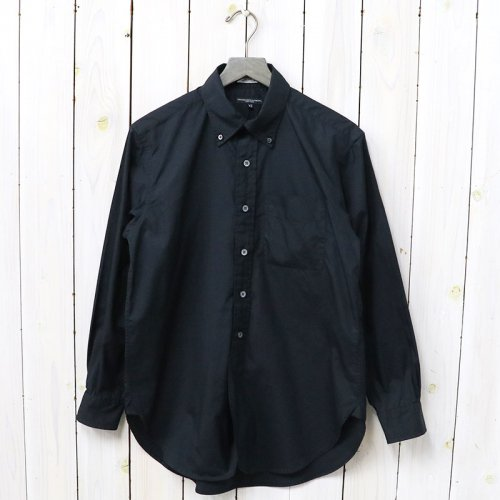 『19th BD Shirt-100's Broadcloth』(Black)