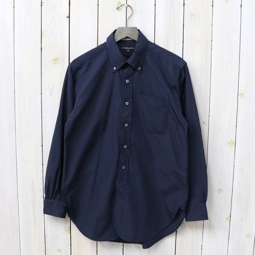 『19th BD Shirt-100's Broadcloth』(Navy)