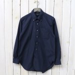 ENGINEERED GARMENTS『19th BD Shirt-100's Broadcloth』(Navy)