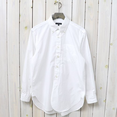 『19th BD Shirt-100's Broadcloth』(White)