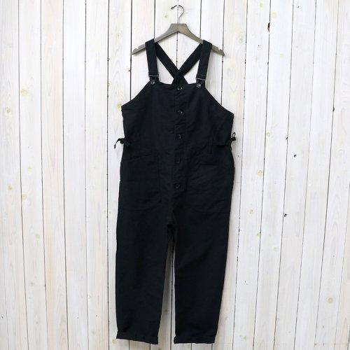 『Overalls-Cotton Double Cloth』(Black)