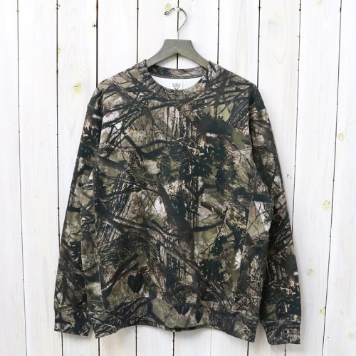 『Crew Sweat-Real Tree/Cotton Jersey』(Khaki)