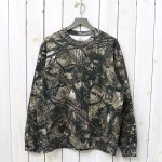 SOUTH2 WEST8『Crew Sweat-Real Tree/Cotton Jersey』(Khaki)