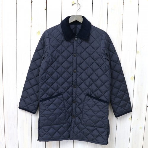 Barbour『LIDDESDALE LONG NYLON』(NAVY)