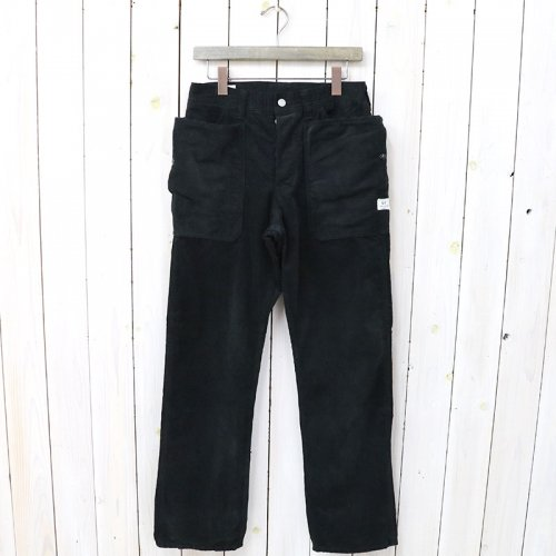 『FALL LEAF PANTS(CORDUROY)』(BLACK)