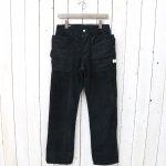 SASSAFRAS『FALL LEAF PANTS(CORDUROY)』(BLACK)