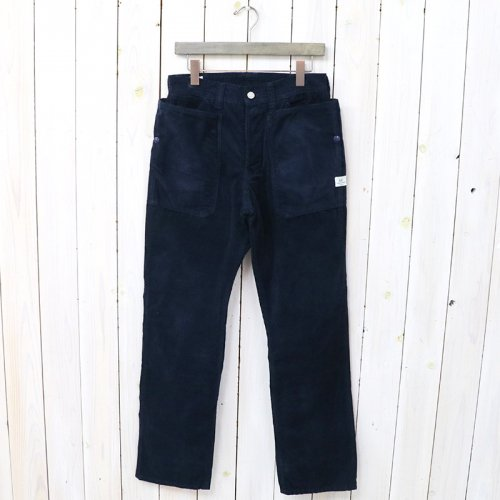 『FALL LEAF PANTS(CORDUROY)』(NAVY)