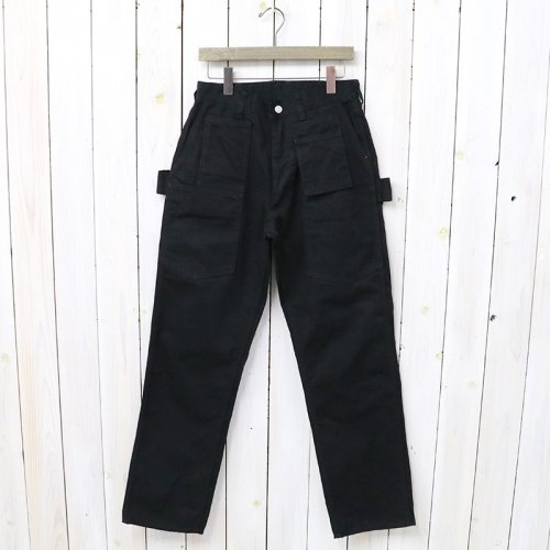 『WHOLE PRUNER PANTS(DUCK)』(BLACK)