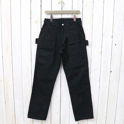 SASSAFRAS『WHOLE PRUNER PANTS(DUCK)』(BLACK)
