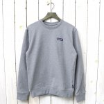patagonia『M's P-6 Label Uprisal Crew Sweatshirt』(Gravel Heather)